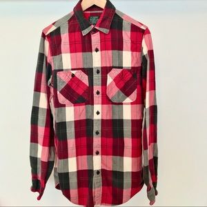 J.Crew Flannel Plaid Button Down Shirt